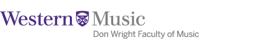 Western Music - Don Wright Faculty of Music