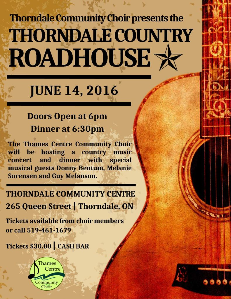 Thorndale Country Roadhose, June 14, 2016